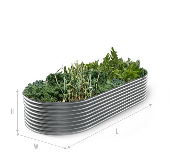 slimline garden bed