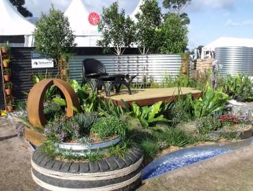 Tankworks Unravelled the Australian Garden Show 2014